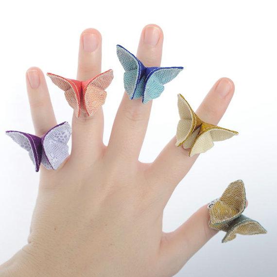 Бабочка из бумаги своими руками фото