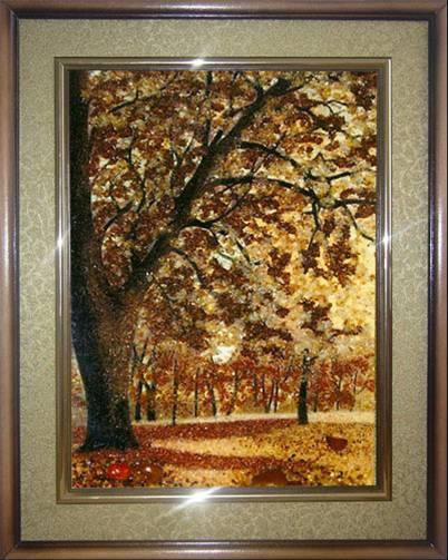 Картины из янтаря своими руками