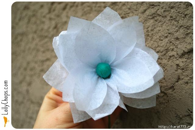 Как сделать из бумаги красивые цветы