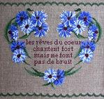 Превью Per Segno per Filo - Coeur aux Bleuets - poesie_ (200x190, 16Kb)