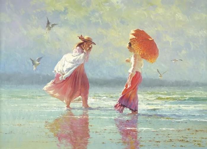 Robert Hagan 1947 - Australian Impressionist painter - Tutt'Art@ (700x503, 215Kb)