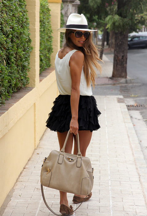 самые модные юбки 2013