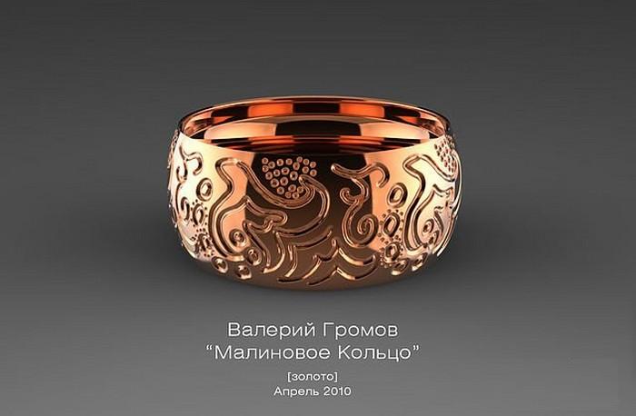Ювелирные авторские работы Валерия Громова