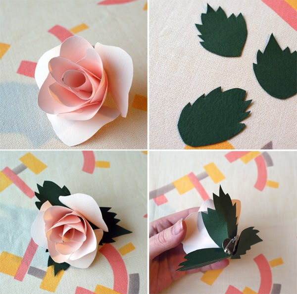 Как сделать цветы из картона и бумаги