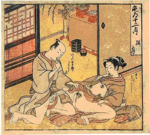 Японская камасутра эротика рисунки 6 фотография