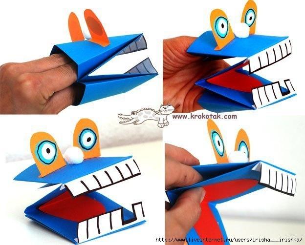 Как сделать из бумаги куклу говорящую
