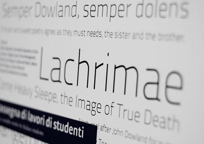 Лучшие шрифты для минималистических веб сайтов Фотографии
