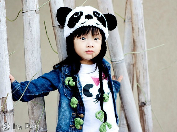 Красивые вязанные детские шапочки