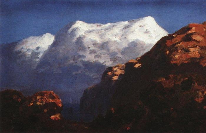 Горы. 1890-1895 (700x453, 94Kb)