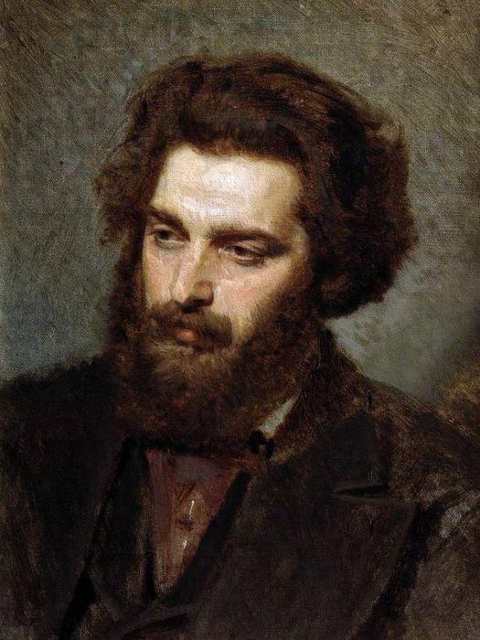 Портрет А.И.Куинджи. 1872 Крамской Иван Николаевич (525x700, 65Kb)