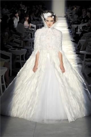 Свадебное платье от chanel