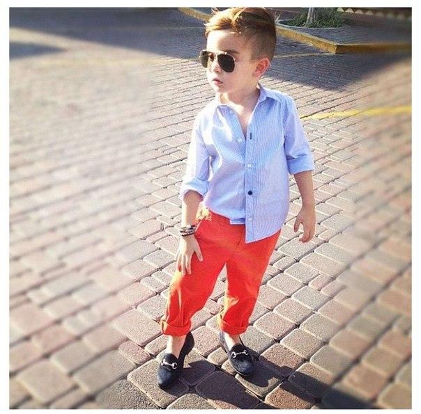 Как модно одевать мальчиков