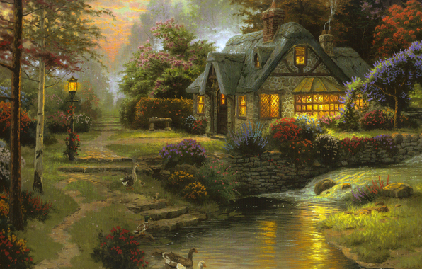 4963546_Stillwater_Cottage_Thomas_Kinkade (596x380, 274Kb)