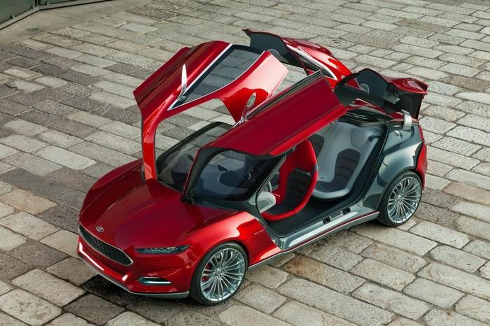 Оригинальный концепт-кар Ford Evos 7 (700x466, 126Kb)