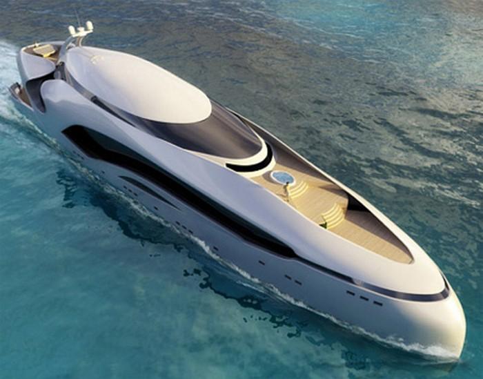 Красивая яхта Oculus 6 (700x549, 96Kb)