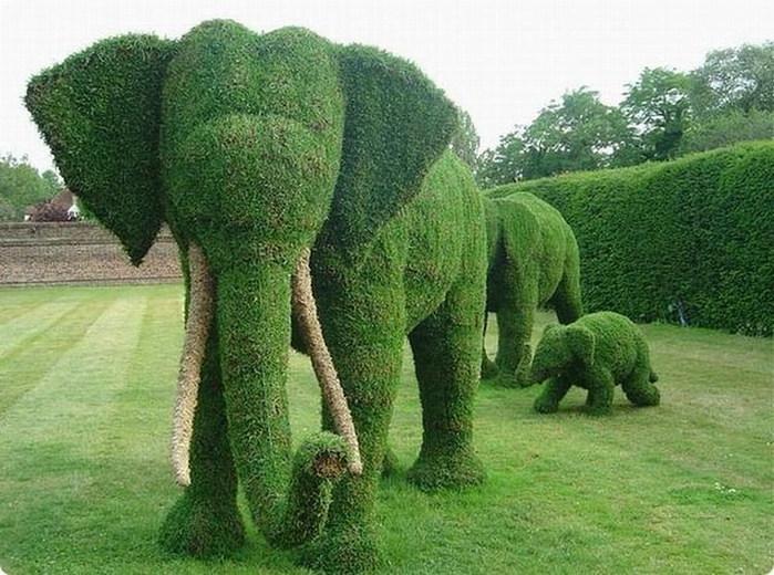 Зелёные слоны