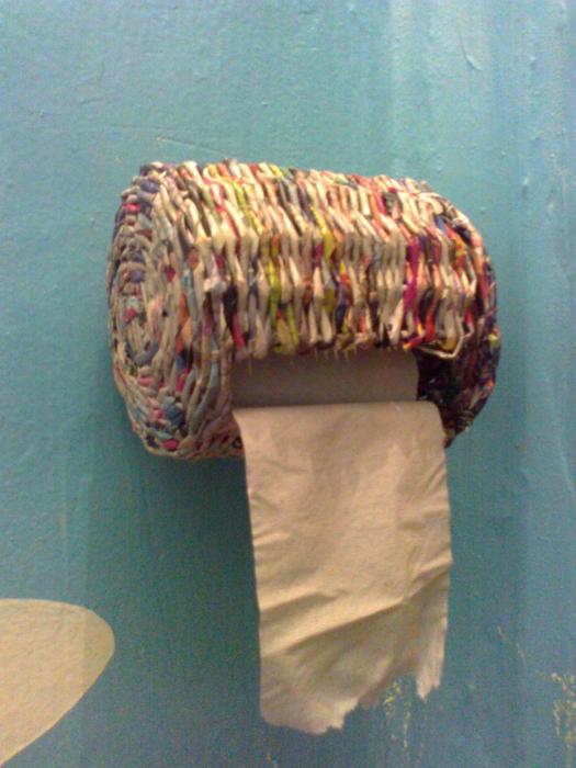 Держатель для бумажного полотенца своими руками фото