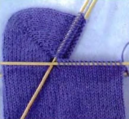 Общие правила вязания носков с