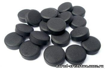 как принимать уголь при аллергии взрослым