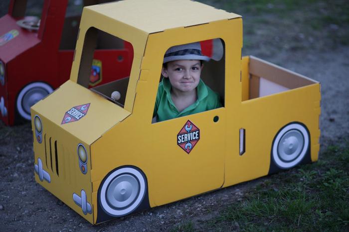 Транспорт своими руками для детского