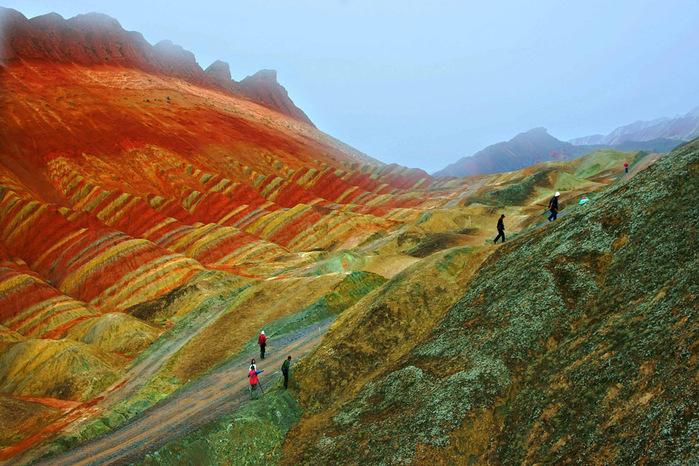местность Данься китай фото 6 (700x466, 184Kb)