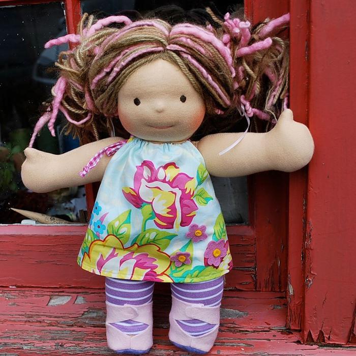 Куклы на руку своими руками фото