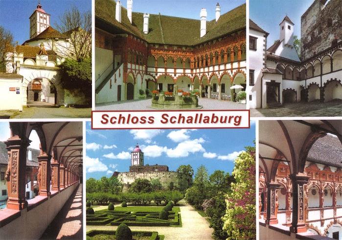 Замок Шаллабург (Schallaburg Castle) - прекрасный замок эпохи Возрождения. 18892
