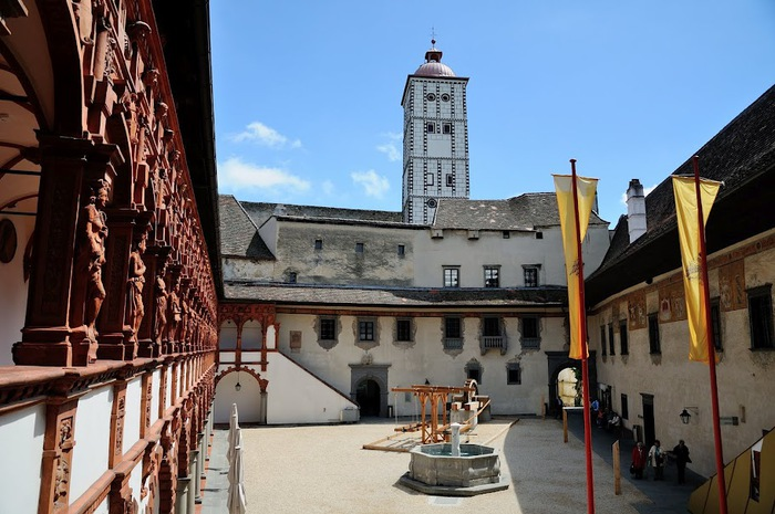 Замок Шаллабург (Schallaburg Castle) - прекрасный замок эпохи Возрождения. 45486