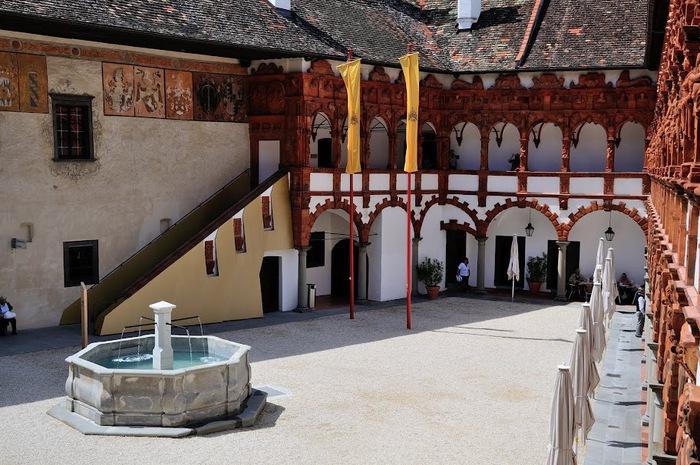 Замок Шаллабург (Schallaburg Castle) - прекрасный замок эпохи Возрождения. 78673