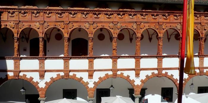 Замок Шаллабург (Schallaburg Castle) - прекрасный замок эпохи Возрождения. 60581