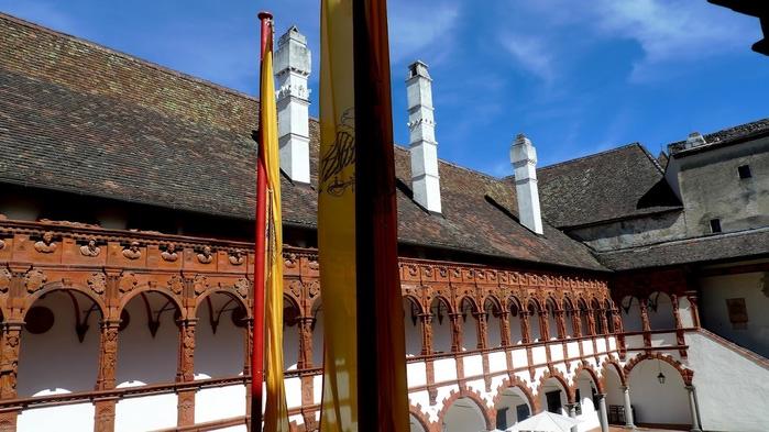 Замок Шаллабург (Schallaburg Castle) - прекрасный замок эпохи Возрождения. 21214