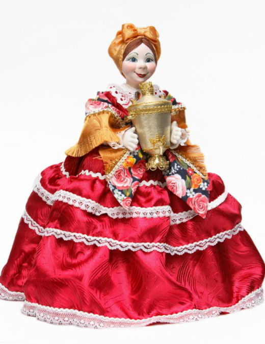 Куклы на самовар своими руками