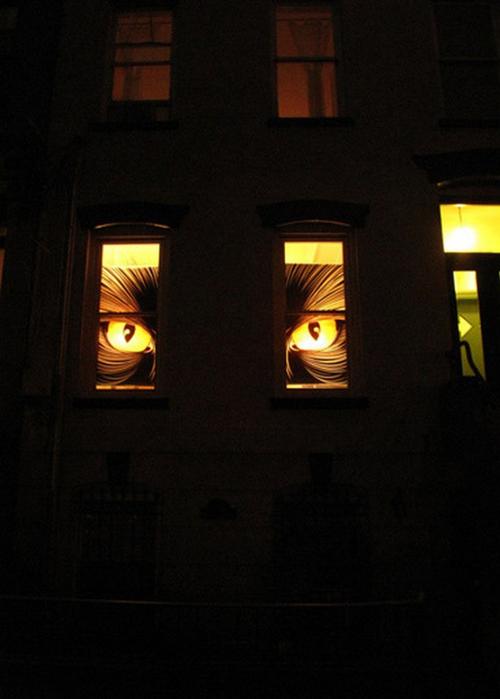 Хэллоуин - идеи оформления дома 29 (500x700, 227Kb)