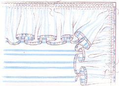 самом как пришивать оборку к детскому одеялку нижнего альвеолярного нерва