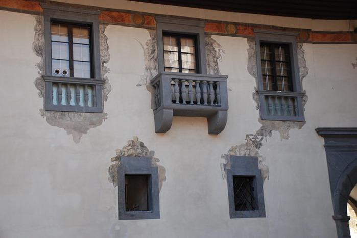 Замок Шаллабург (Schallaburg Castle) - прекрасный замок эпохи Возрождения. 53956