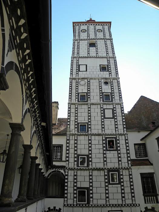 Замок Шаллабург (Schallaburg Castle) - прекрасный замок эпохи Возрождения. 89255