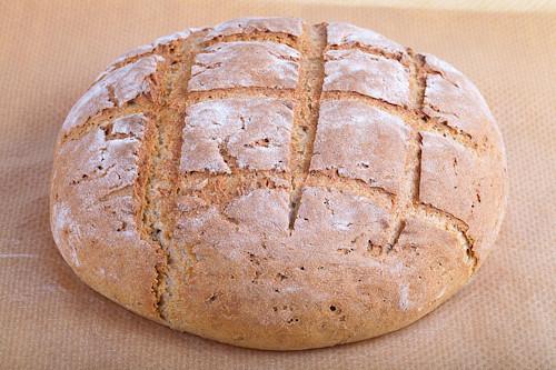 Чёрный хлеб в домашних условиях