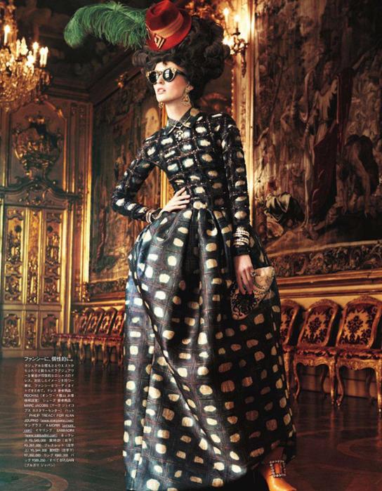 Мария Антуанетта на страницах Vogue9 (544x700, 185Kb)
