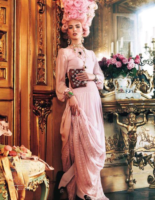Мария Антуанетта на страницах Vogue11 (542x700, 191Kb)