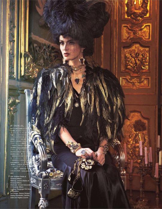 Мария Антуанетта на страницах Vogue15 (541x700, 163Kb)