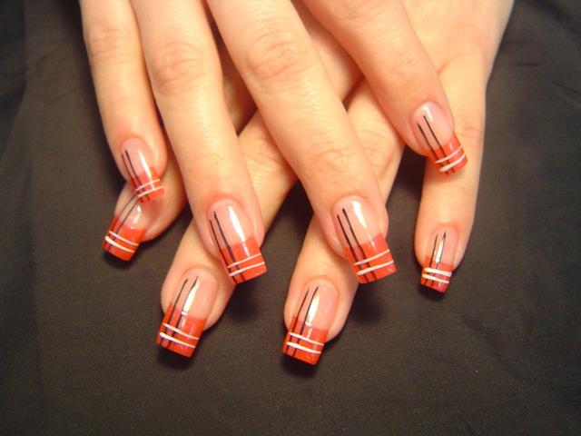 Простой дизайн на ногтях фото