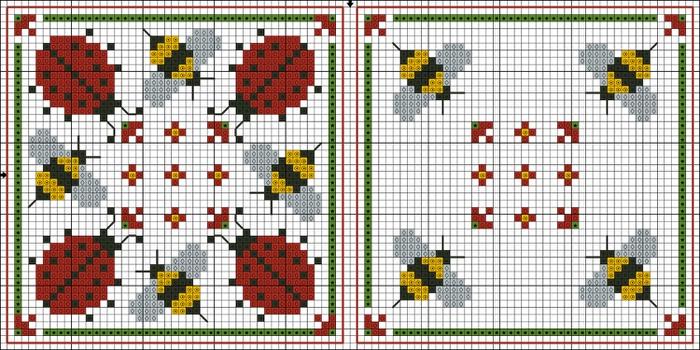 божьи коровки и пчелы (уменьшенная) (700x350, 250Kb)