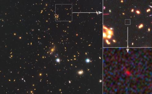 удалёная галактика,самые древнии галактики,галактика,астраномия (495x305, 115Kb)
