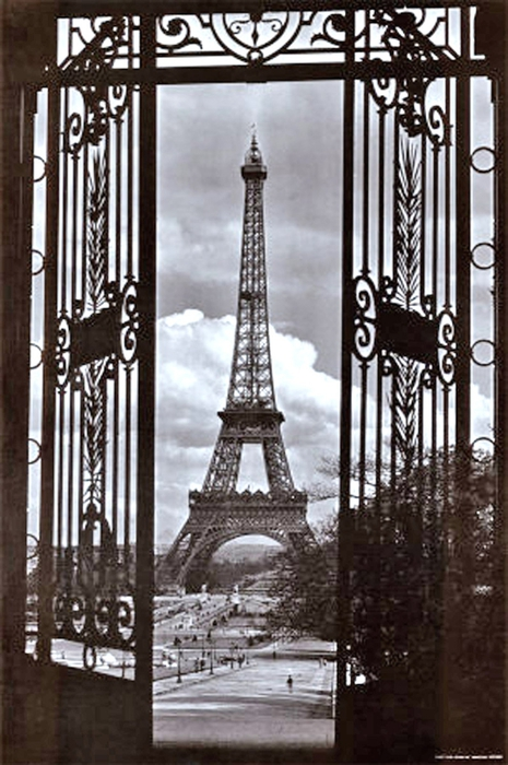 alexandre-gustave-eiffel-eiffel-tower-through-gates (465x700, 249Kb)