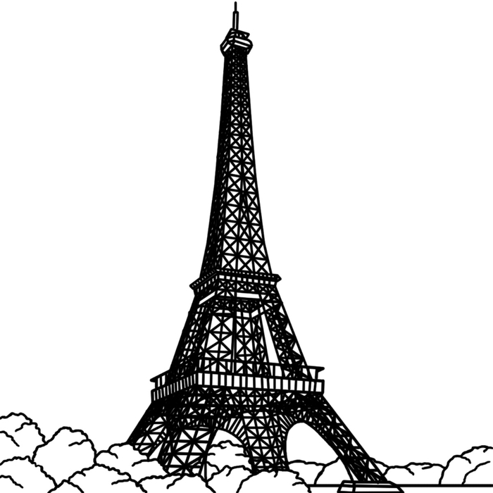 eiffel_tower_bw (700x700, 105Kb)
