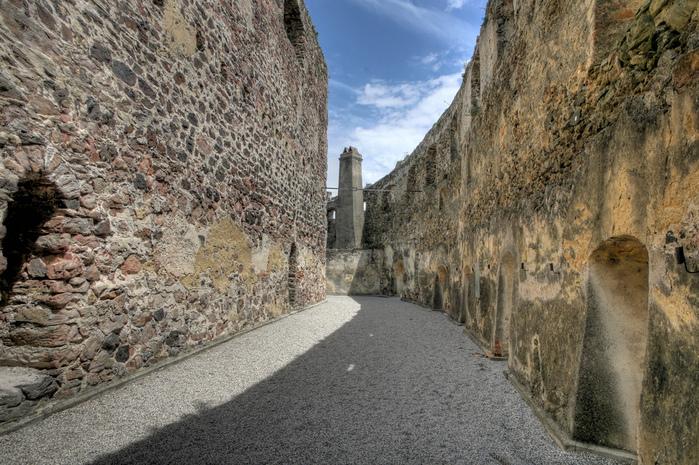 Замок Шаллабург (Schallaburg Castle) - прекрасный замок эпохи Возрождения. 89653