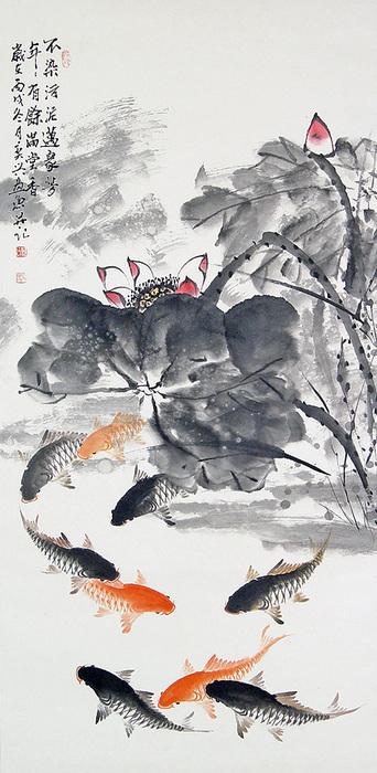 китайский карп рыбалка
