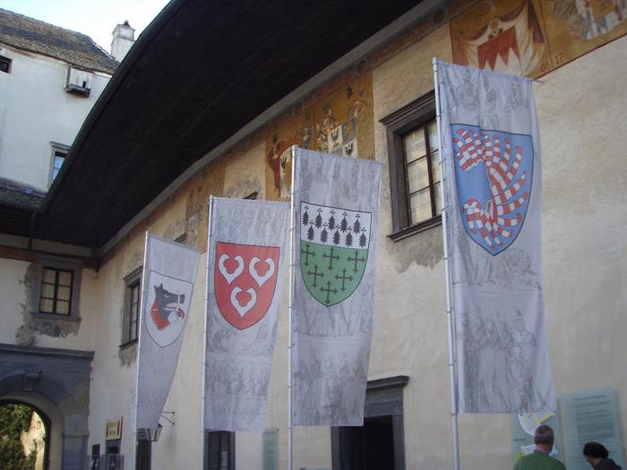 Замок Шаллабург (Schallaburg Castle) - прекрасный замок эпохи Возрождения. 30737