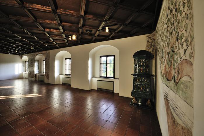 Замок Шаллабург (Schallaburg Castle) - прекрасный замок эпохи Возрождения. 75659