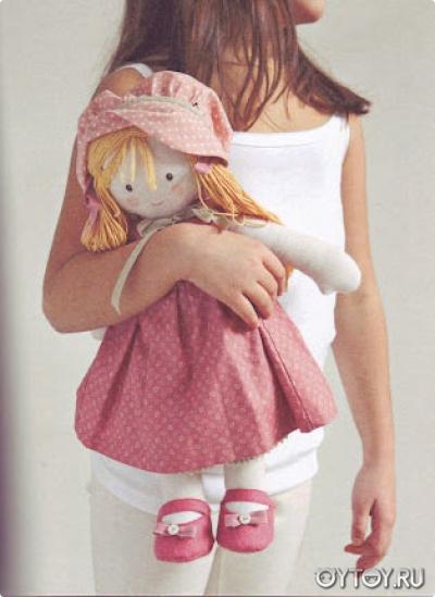 Кукла своими руками текстильная